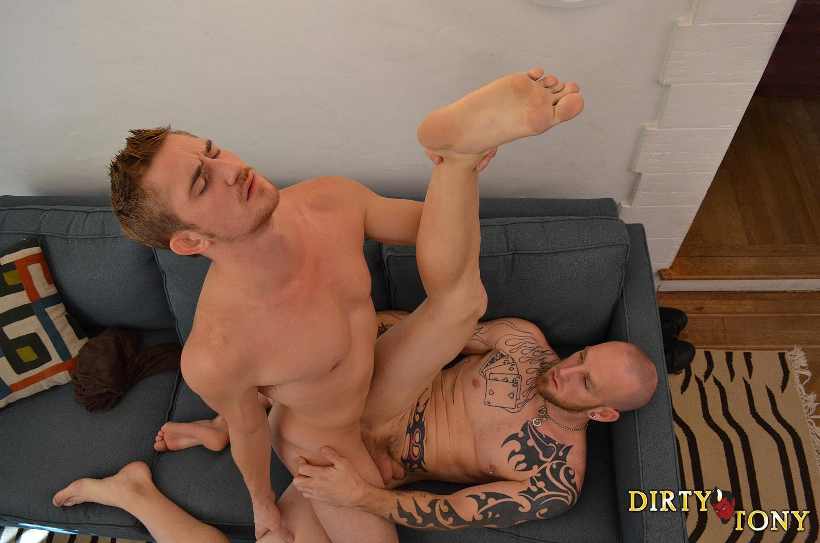 Dirty Tony Paul Stack and Dayton Oconnor Bareback Straight Guy Amateur Gay Porn 08 Straight Redheaded Vegas Bouncer Gets A Cock Up His Ass
