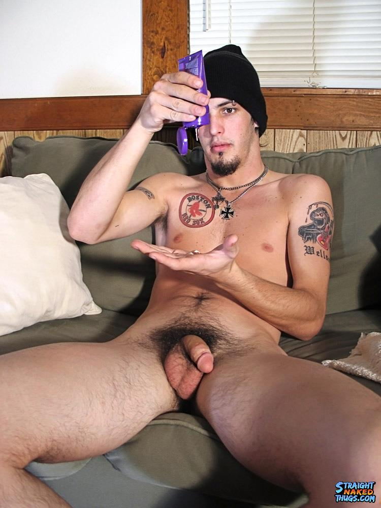 Straight tattooed guy fuck another dude