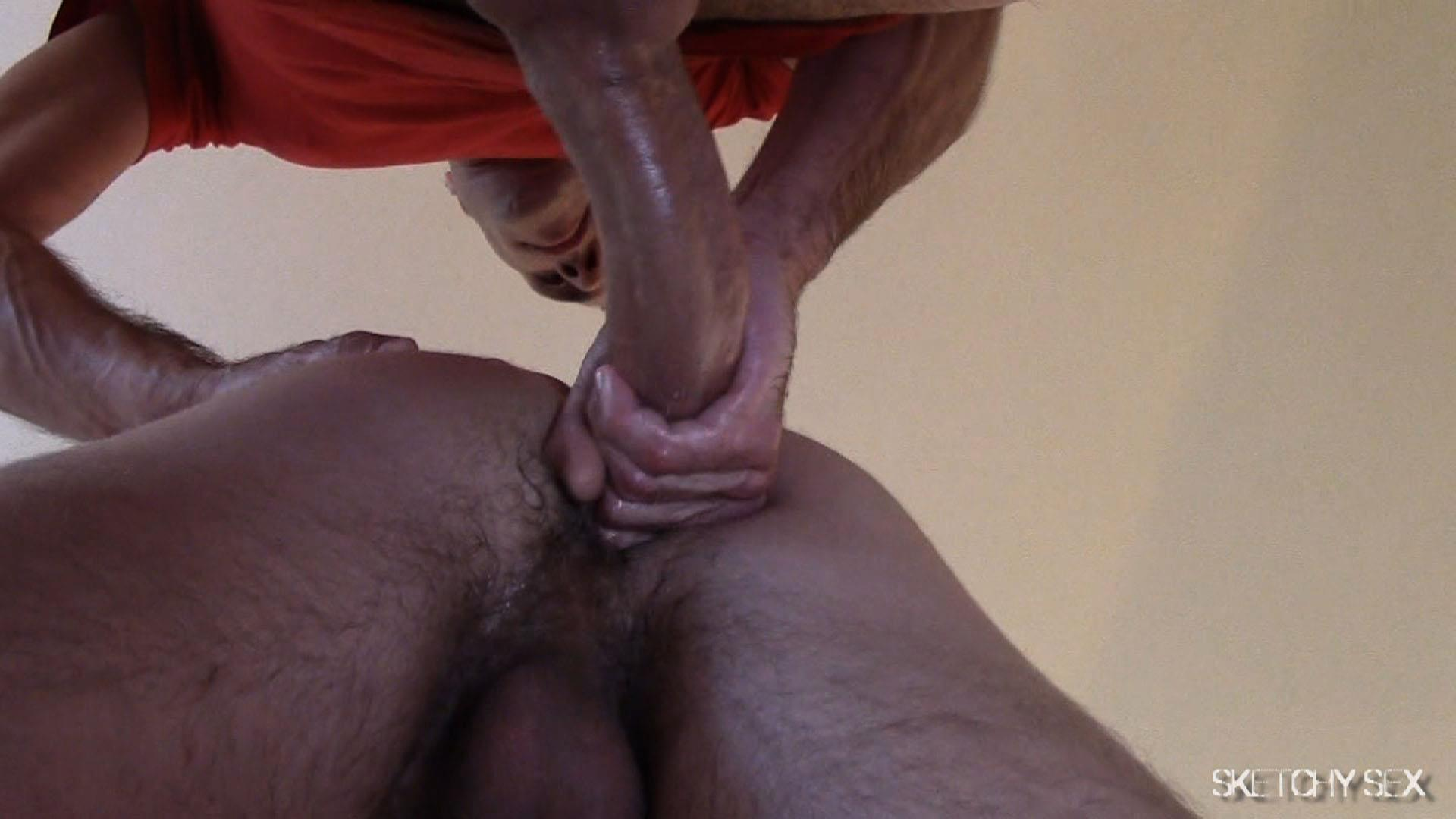 "Sketchy Sex Nate Getting Fucked Bareback By A 10 Inch Craigslist Cock Amateur Gay Porn 08 Taking A 10"" Craigslist Cock Bareback While The Roommate Watches"