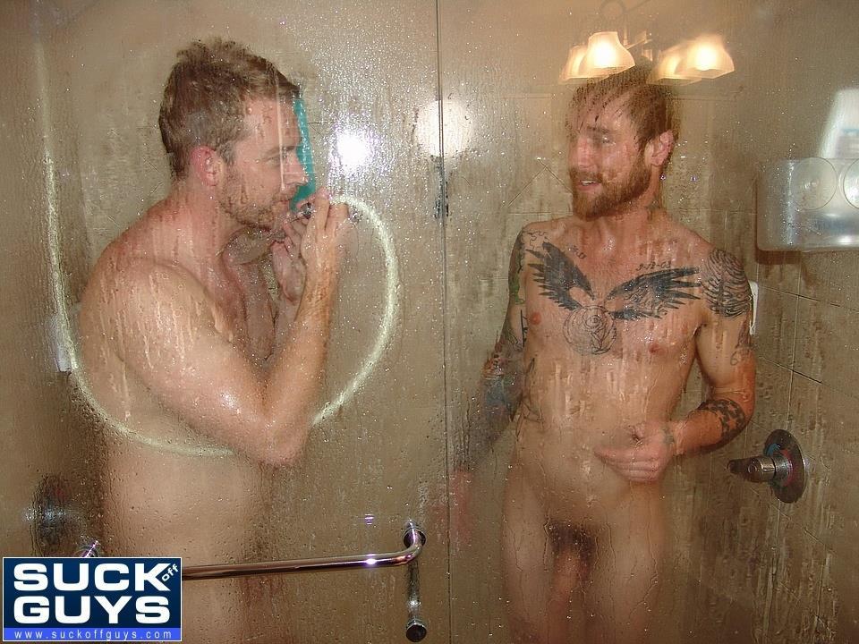 Bathing Guys Sucking Rimming