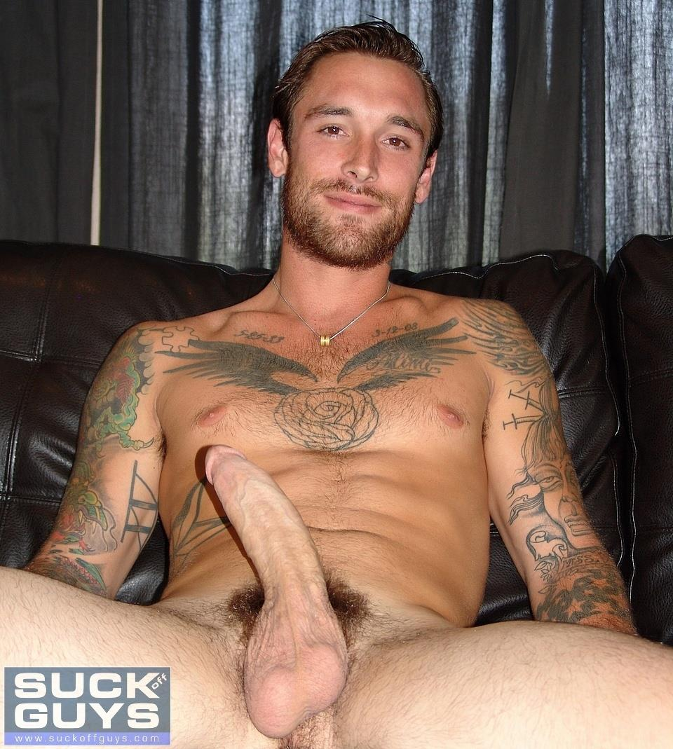 Gay guy sucking big cock