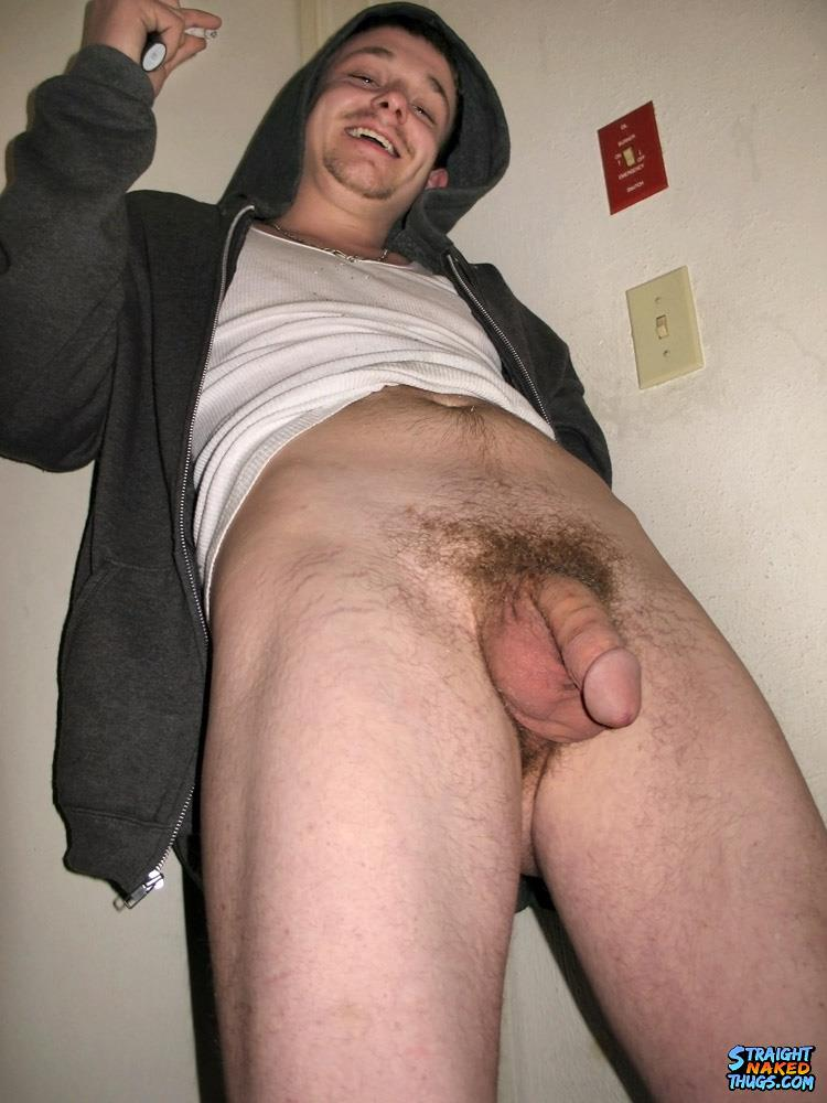 Straight-Naked-Thugs-Garth-Naked-Redneck-Jerking-His-Big-White-Cock-Amateur-Gay-Porn-08 Straight Naked Redneck Smoking and Jerking His Big Cock