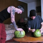 Straight Naked Thugs Devin Reynolds and Blinx and Kenneth Slayer Fucking A Watermelon Amateur Gay Porn 05 150x150 Straight Southern Naked Rednecks Fuck Some Watermelons With Their Big Dicks