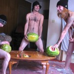Straight Naked Thugs Devin Reynolds and Blinx and Kenneth Slayer Fucking A Watermelon Amateur Gay Porn 12 150x150 Straight Southern Naked Rednecks Fuck Some Watermelons With Their Big Dicks