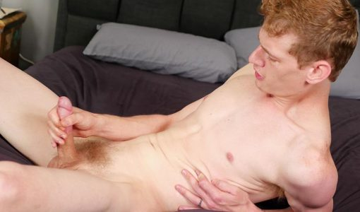 Broke straight boys jack off