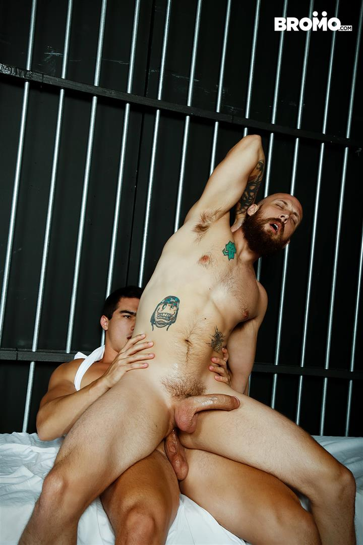 Bromo-Axel-Kane-and-Dustin-Steele-Big-Dick-Redneck-Gets-Bareback-Fucked-20 Redneck Dustin Steele Gets His Hairy Ass Barebacked By Axel Kane